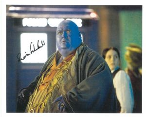 Simon Fisher Becker (Dr Who & Harry Potter) - Genuine Signed Autograph 8265